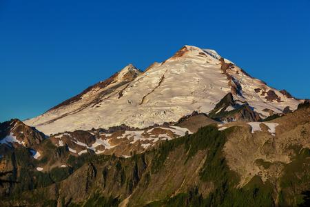 north cascade national park: Mt.Baker recreation area, Washington, USA