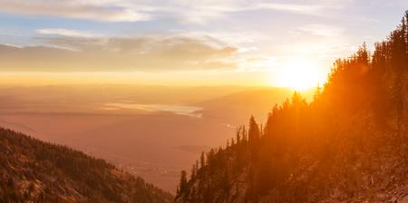 wyoming: Grand Teton National Park, Wyoming, USA. Instagram filter.