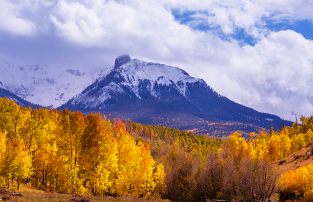 county side: Autumn in Colorado, United States