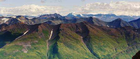 View from Donoho peak, Alaska Imagens