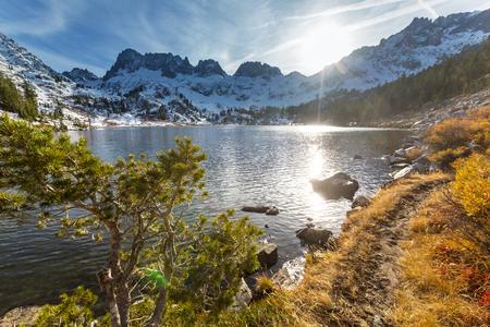 Sierra Nevada mountains Stock Photo