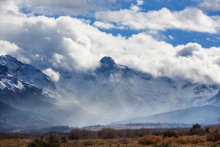 colorado rocky mountains: Mountain Landscape in Colorado Rocky Mountains, Colorado, United States. Stock Photo