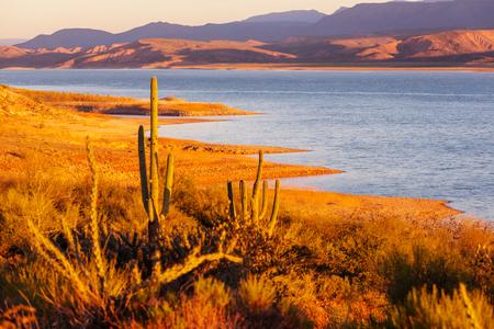 gunsight: Arizona landscapes,USA Stock Photo