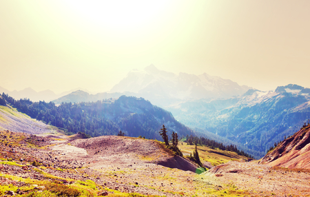 recreation area: Mt. Baker recreation area, Washington, USA