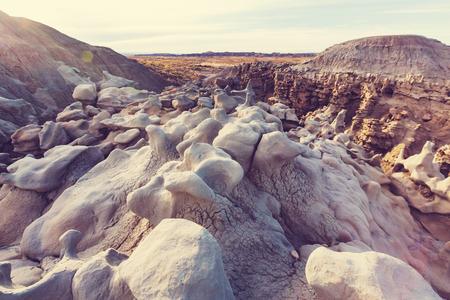 Unusual Fantasy Canyon in the Utah desert, USA. Фото со стока