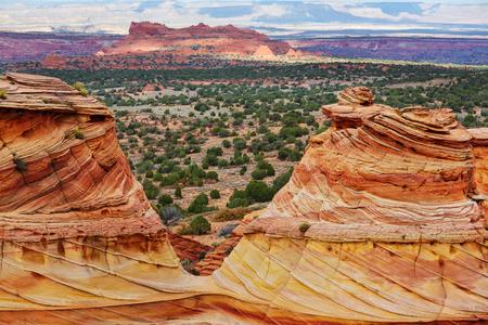 paria canyon: beautiful nature of the mountain Stock Photo