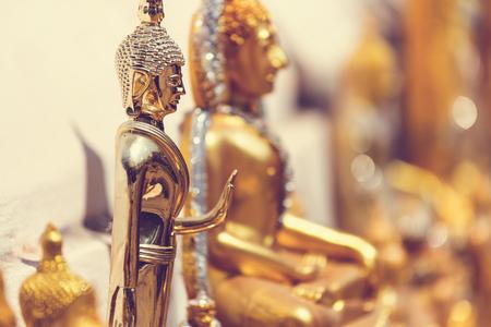 Buddhas statue Stock Photo