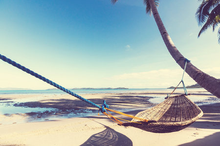 Serenidad playa tropical Foto de archivo - 75020208