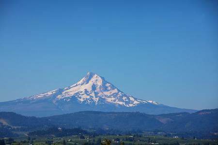 Montar. Hood en Oregon Foto de archivo