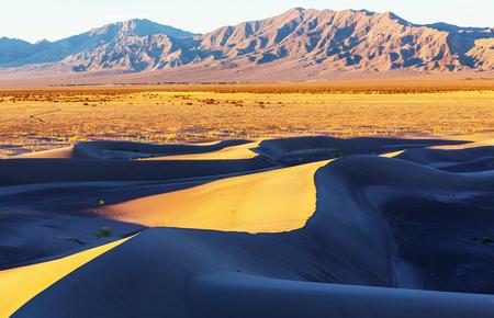 wanderlust: Sand dunes in Death Valley National Park, California, USA