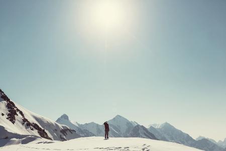 The climb Фото со стока