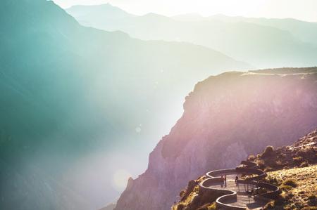 canyon Colca in Peru, South America
