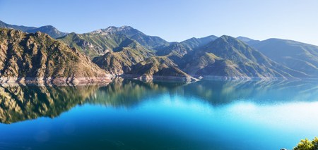 landscape: Lake in Turkey. Beautiful mountains landscapes.