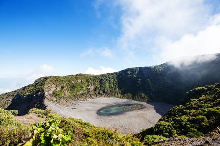 Hike to Irazu Volcano in Central America. Costa Rica