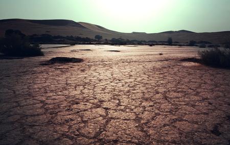 Drought land Banco de Imagens