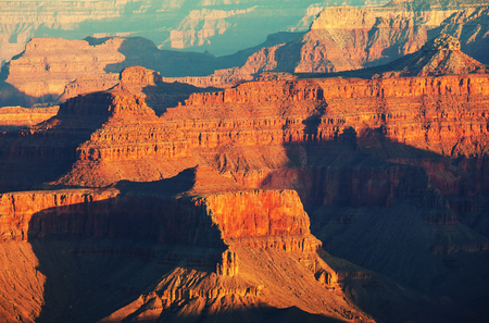 Picturesque landscapes of the Grand Canyon, Arizona, USA