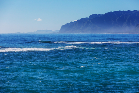 Picturesque view of Hawaii island Stock Photo
