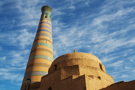 Ancient city of Khiva, Uzbekistan.