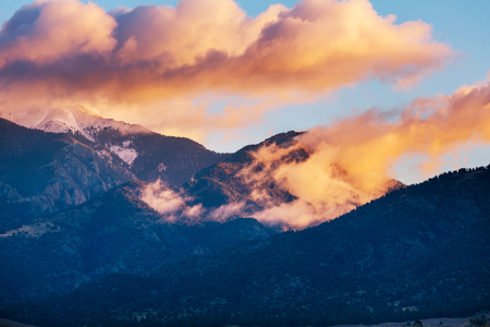 Mountain Landscape in Colorado Rocky Mountains, Colorado, United States. Banco de Imagens
