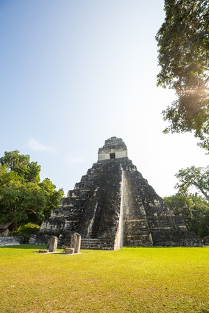 Famous ancient Mayan temples in Tikal National Park, Guatemala, Central America Stock Photo - 115849609