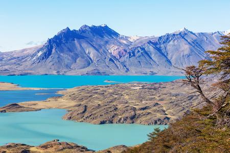 Parco Nazionale Perito Moreno, Patagonia, Argentina Archivio Fotografico