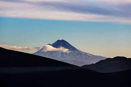 Beautiful volcanic landscapes in Chile, South America