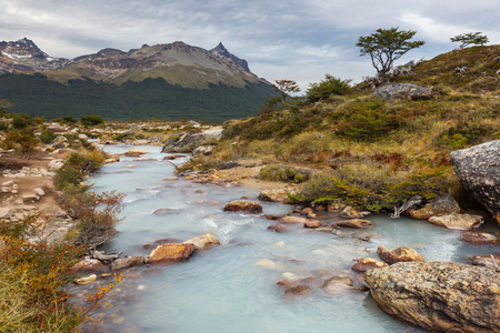 Patagonia landscapes in Southern Argentina