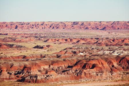 Unusual badlands landscapes in Utah, USA