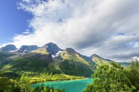 Picturesque landscapes of Northern Norway