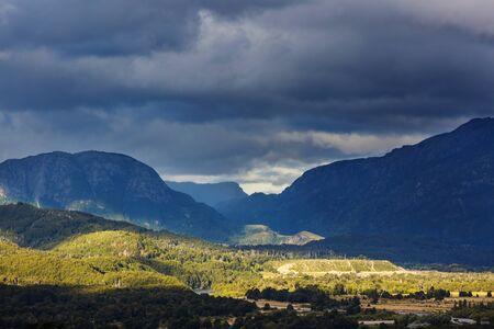 Patagonia landscapes in Southern Argentina Standard-Bild