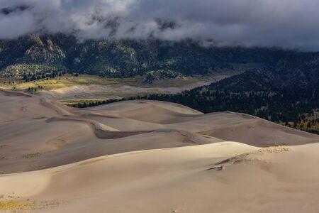 Autumn season in Great Sand Dunes National Park, Colorado, USA
