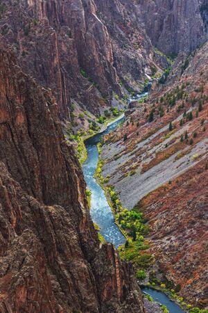 Black Canyon of the Gunnison, Colorado, USA