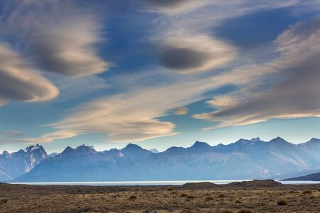 Patagonia landscapes in Southern Argentina Stock Photo