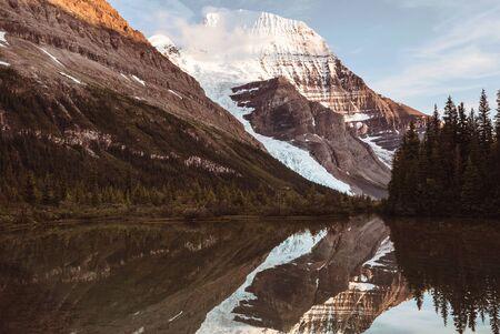 Beautiful Mount Robson in summer season, Canada