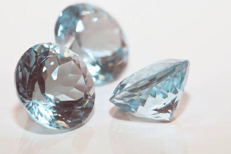Different Beautiful gemstones. Luxury background.