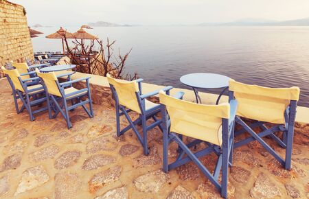 Ursprüngliche Hydra-Insel in Griechenland