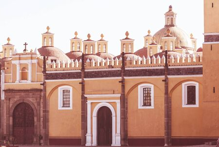 Catholic church in Mexico. Travel concept