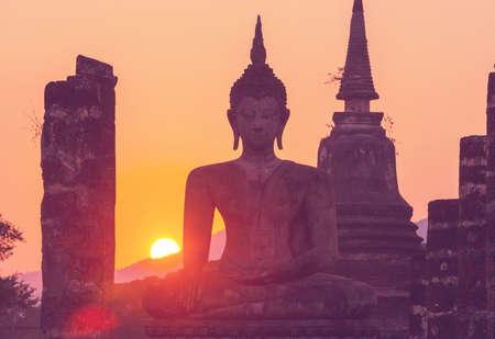 Buddhas statue in Buddhist temple