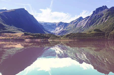 Beautiful natural mountains Landscapes of Norwey