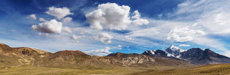 Unusual mountains landscapes  in Bolivia altiplano travel adventure South America Stok Fotoğraf