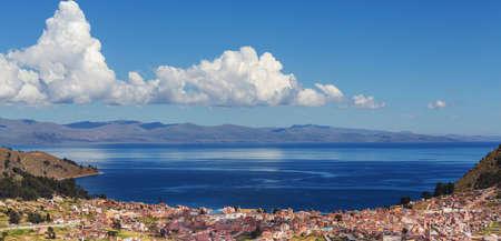 Beautiful Titicaca Lake in Bolivia
