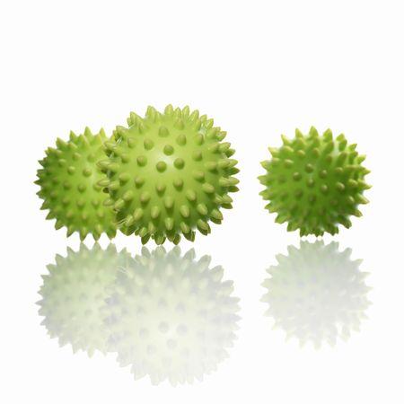 stressmassage ball Stock Photo