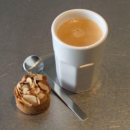 caffè con biscotti Archivio Fotografico