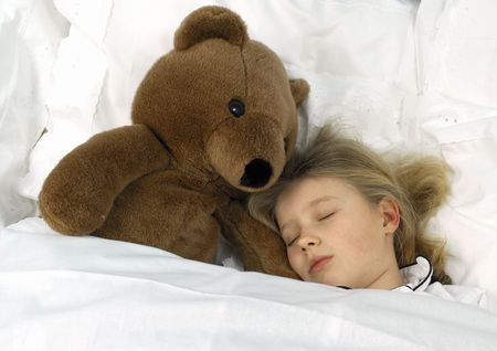 schlafendes M�dchen