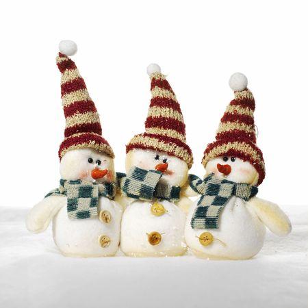 Jolly snowmen photo