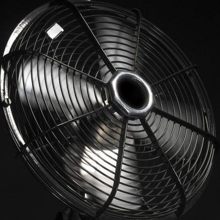 ventilator or fan in action (back background) photo