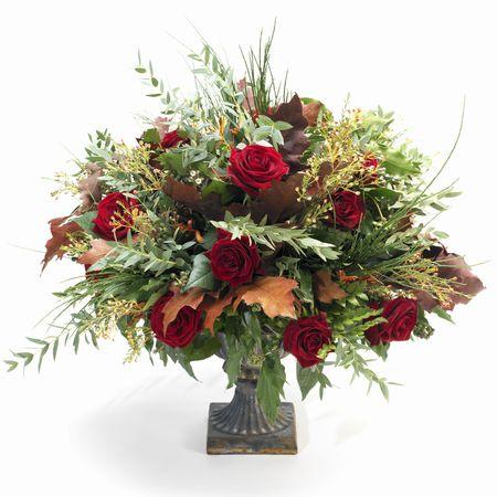 baroque fall bouquet