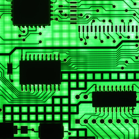 components: electronic circuit, semi conductor  (macro)