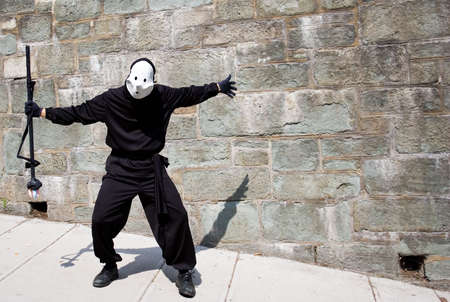 This is a Shadow captor.  They draw the shadow of people that walk to catch there shadow Stock Photo