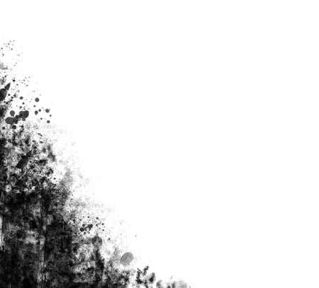 Grunge corner on white background Stock fotó